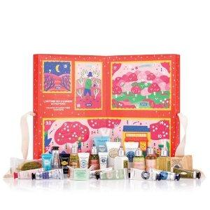 $64(价值$105)+最高送$30礼卡上新:L'Occitane 圣诞倒数日历美妆套装上市