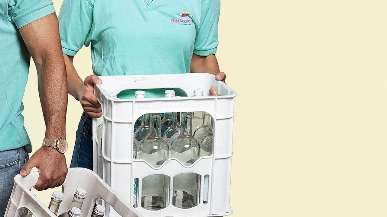 德国瓶装水、饮料送货上门!再也不用去超市搬水啦| 送水服务