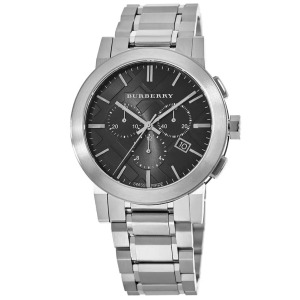 $279Dealmoon Exclusive: Burberry Swiss Chronograph Black Dial Stainless Steel 42mm Men's Watch