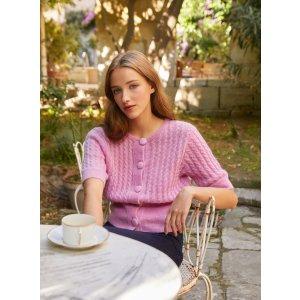 Petite Mendigote针织短袖上衣