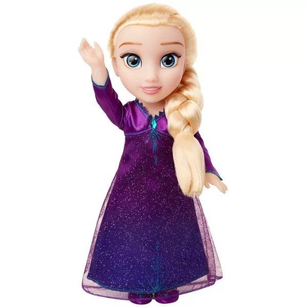 Frozen 2 艾莎音乐玩偶