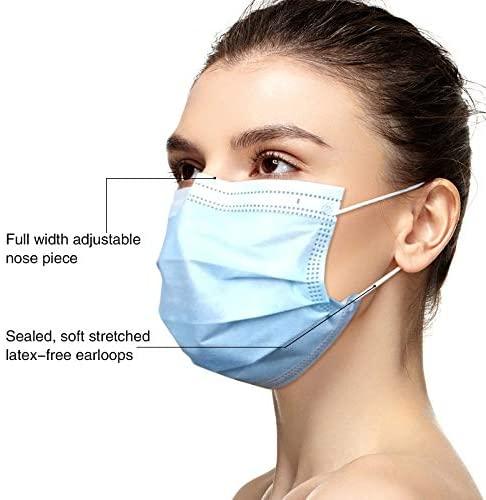 THINKA 医用一次性三层口罩50个