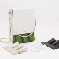 Kitayama 海女系列白色方包
