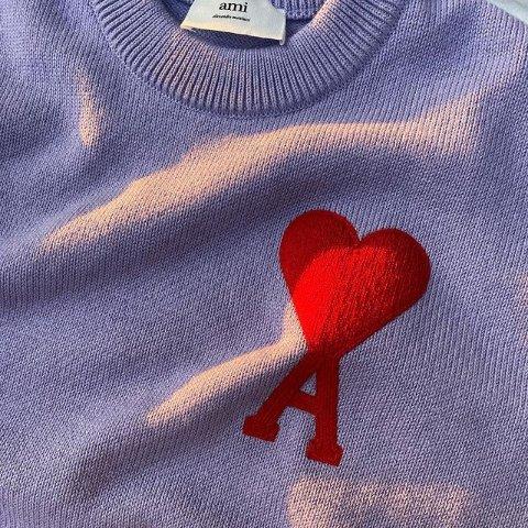 €135收桃心条纹上衣上新:Ami SS21春夏新色热卖 €310收《吐槽大会》杨鸣同款卫衣
