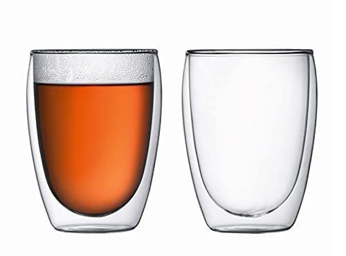 双层玻璃杯2个装