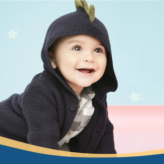 Up to 60% Off + Extra 25% Off $50+Carter's Kids Coats & Cardigans Sale