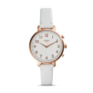 FossilHybrid Smartwatch - Cameron White Leather