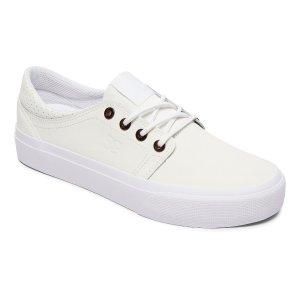 女士休闲小白鞋