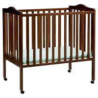 Delta Children 可折叠滚轮婴儿床