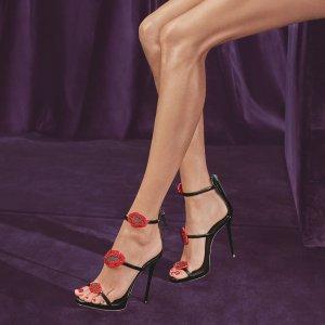 低至2折 闪钻唇印高跟鞋$300+Gilt 精选 Giuseppe Zanotti 等大牌夏季美鞋热卖