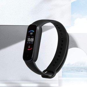 折后仅€29.9 可测血氧浓度Amazfit Band 5 智能手环 可显示时间以及超多健康数据