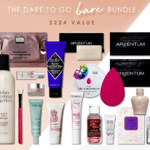 Receive the Dare to Go Bare Bundle ($224 value)with any $150+ full priced order + e-certificate @ B-Glowing