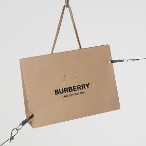 低至3折+额外7折 好价抢孤码Burberry 精选男、女服饰等热卖