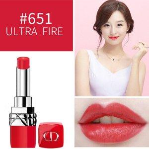 Dior5.6折,亮橘红色红管口红 -651