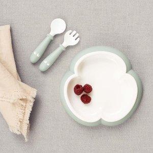 8折 直壁餐盘,宝宝易取食