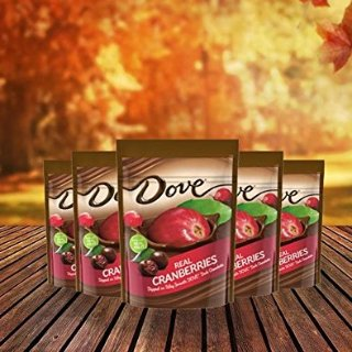 $8.53DOVE Fruit Dark Chocolate With Real Cranberries 17-Ounce