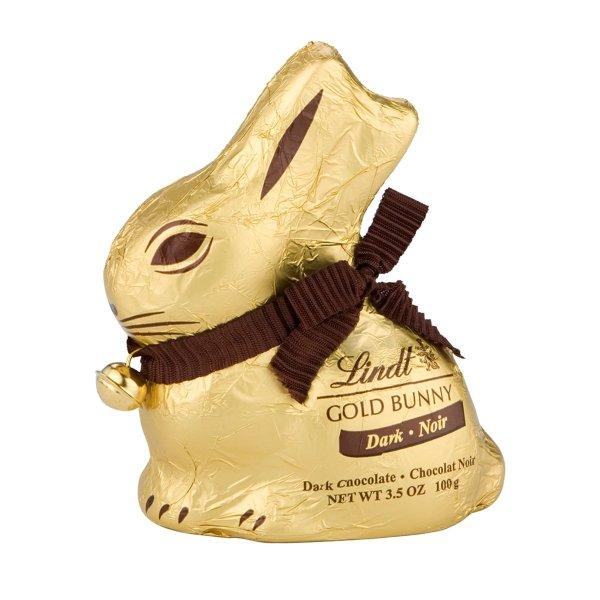 Lindt 黑巧克力 兔子, 100g