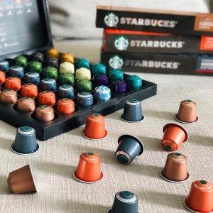 低至7折 £27入120颗 史低!黑五价:Starbucks 胶囊咖啡、雀巢多趣酷思、咖啡豆 限时热卖