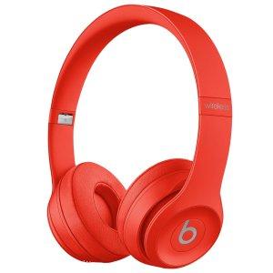 Beats by Dr. DreSolo3 蓝牙耳机 红色