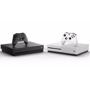 8折 回国可退税Microsoft Xbox one X/S 游戏同绑套装