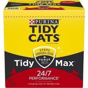 全场立减$5Purina Tidy Cats 全新款猫砂系列 Tidy Max 开售