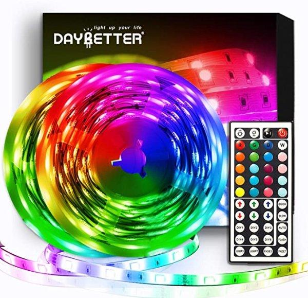 LED灯带 32.8ft 5050 RGB  10m,带红外遥控器