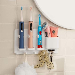 折后€11.98 原价€19.99simpletome 多功能牙刷架 清空洗手台面 干净整洁好打扫
