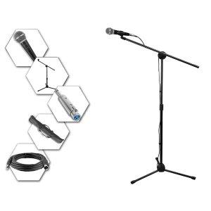 $24.99 一站式搞定 还有携带包Technical Pro 录音套装 含话筒 话筒支架 卡农头线材等