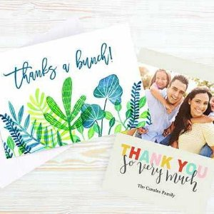 FreeWalgreens 5x7 Flat Premium Photo Cards 6 set