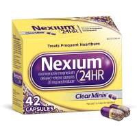 Nexium 24HR 强力胃药小粒版 42粒 4.8颗星好评