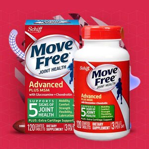 $16.42Move Free Advanced Ultra Triple Action Joint Supplement, 60 Count