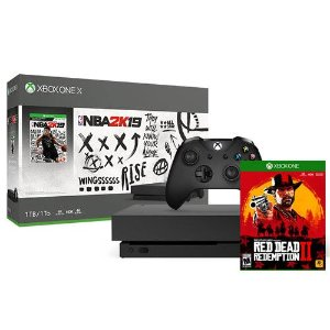 Xbox One S / X 1TB Game Bundle + Red Dead Redemption 2
