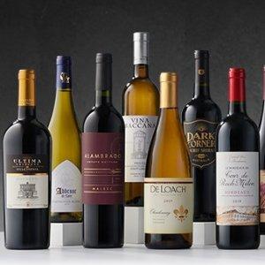 $69.99 一瓶$4.99WSJwine 精选14瓶葡萄酒套装限时特惠,送两只酒杯