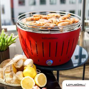 €129起 收最优雅的烧烤炉LotusGrill 碳烤炉 加热快速 少烟烧烤 外壳不烫手 可拆卸清洗