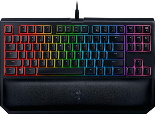 BLACKWIDOW TE Chroma V2 机械键盘 黄轴