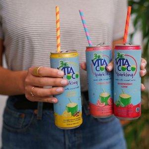 9折 现价$20.39(原价$23.99)Vita Coco 气泡椰子水 12罐装 多种口味可选
