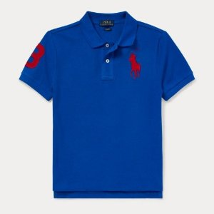 Up to 70% Off + 40% OffRalph Lauren Boys Slim Fit Cotton Mesh Polo