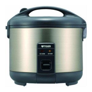 Tiger JNP-S15U Stainless Steel 8-Cup Conventional Rice Cooker