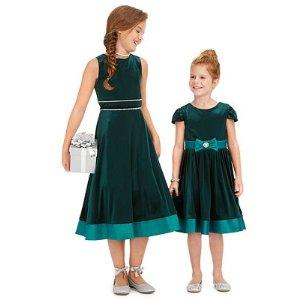 低至3.6折 低价搞定正装裙Rare Editions 女婴、女童节日款连身裙优惠
