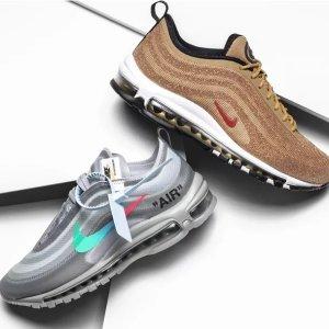 周董同款OFF WHITE联名$275Stadium Goods官网 Nike各大联名合作款潮鞋都在这里了