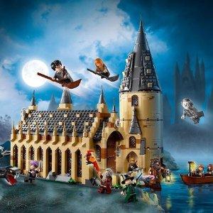 $80收黄多多同款 全球限时包税Lego 限时折扣 买哈利波特系列送小人儿喽