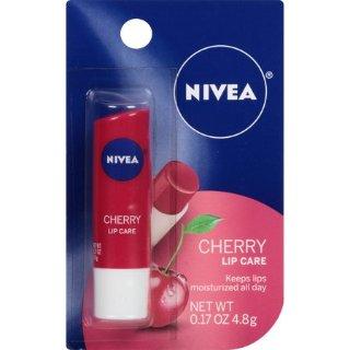 $1.89 白菜价NIVEA樱桃味护唇膏 天然滋养