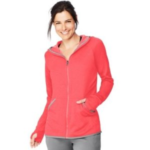 HanesSport™ Women's Performance Fleece Zip Up Hoodie