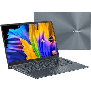 $898.37ASUS ZenBook 13 轻薄本 (i7-1165G7, OLED, 8GB, 512GB)