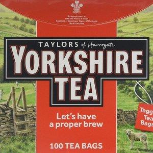 £12.50收600包Yorkshire 超大包装红茶包 自制烤奶、奶茶必备