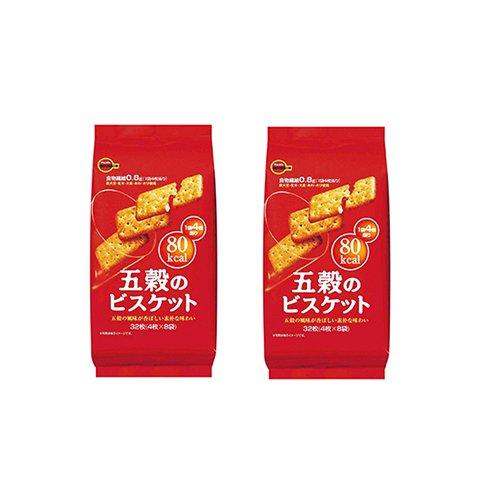 【2%返点】2袋BOURBON 低卡五谷饼干