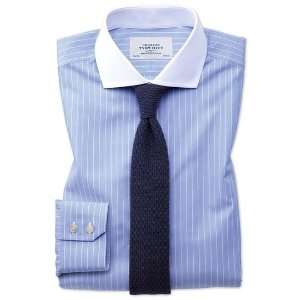 Charles Tyrwhitt4 for $78.2Extra slim fit spread collar non-iron Winchester blue and white shirt