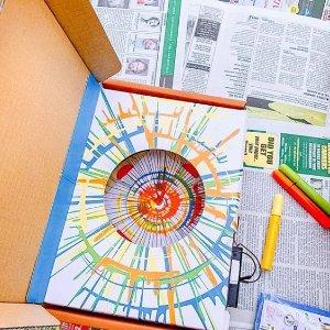 首月5折 可反复使用独家:Kiwico 风靡全球的手作游戏 14-104岁都能玩 手工达人必收