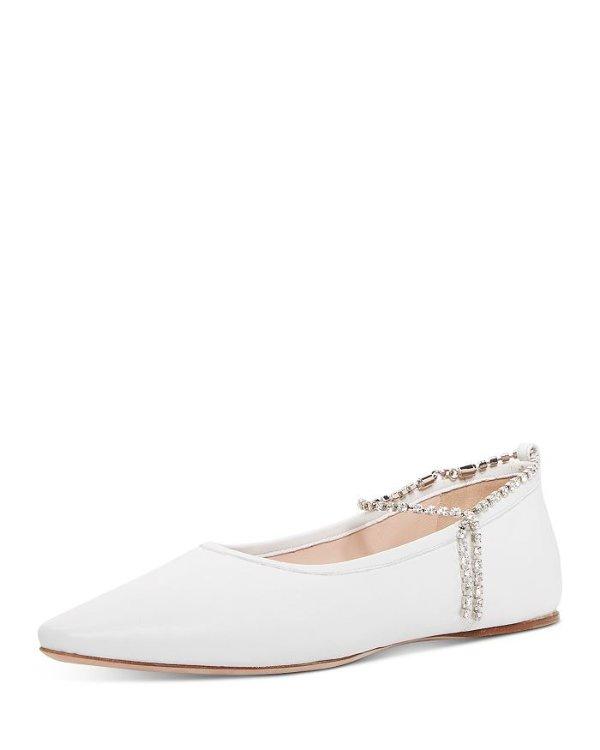 Women's Crystal 水晶平底鞋