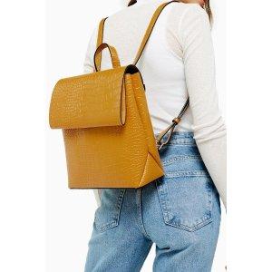 TopshopBLAZE Mustard Backpack